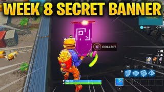 Week 8 SECRET Battle Star LOCATION Replaced by Secret Banner in Fortnite Season 6