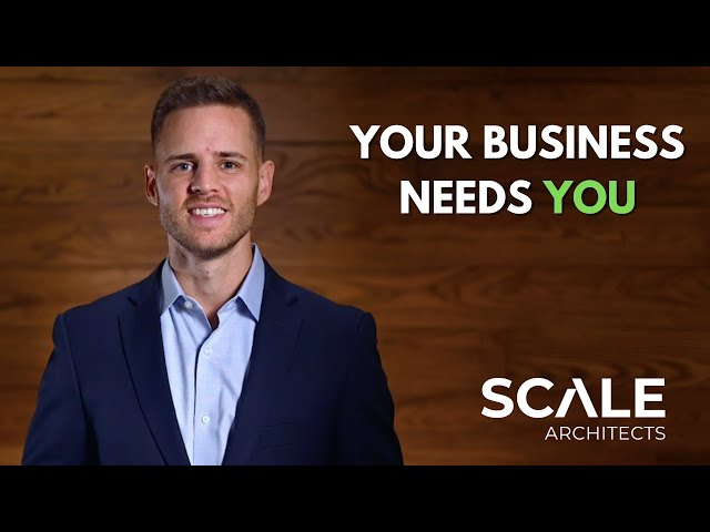 Your business needs you