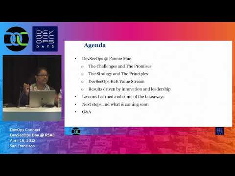 Fannie Mae's Journey to DevSecOps   Chitra Elango, Hosted by John Willis