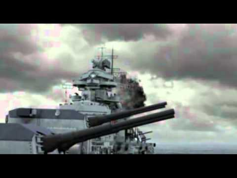 Bismarck Vs Hood X Ray Dog Approaching Storm Youtube