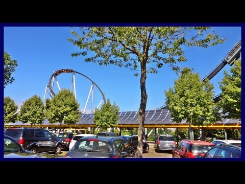 SILVER-STAR | Offride from the parking lot at Europa-Park