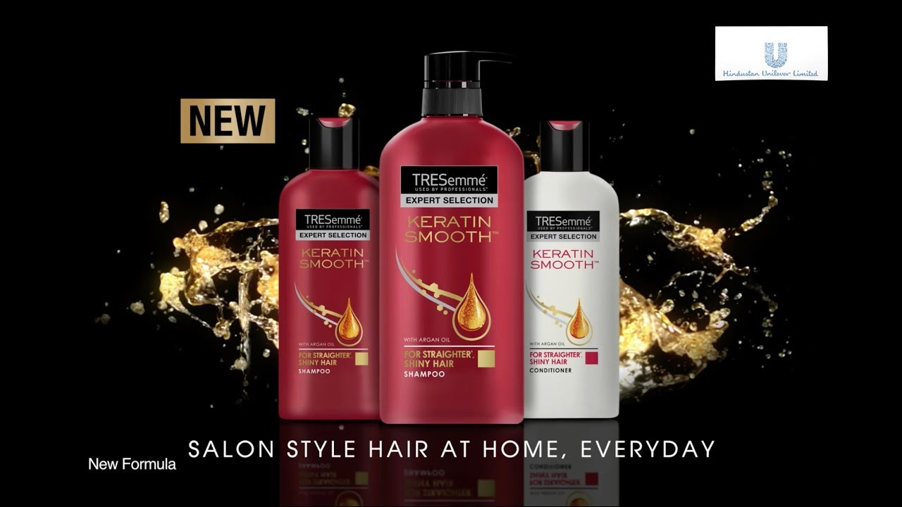 Get Rid Of Frizzy Hair With TRESemm Keratin Smooth Range TRESemmIndia YouTube