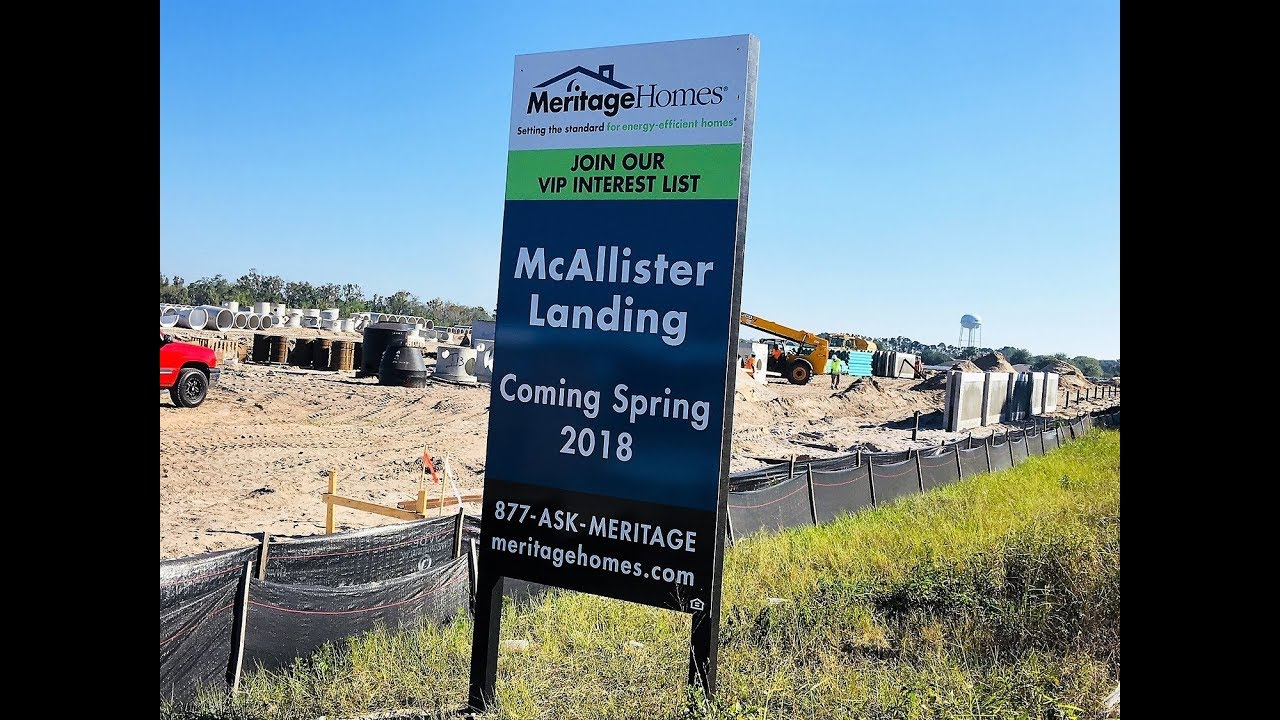 Winter Garden New Homes   McAllister Landing By Meritage Homes