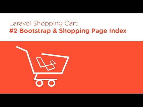 Laravel 5.2 PHP - Build a Shopping Cart - #2 Product Index View
