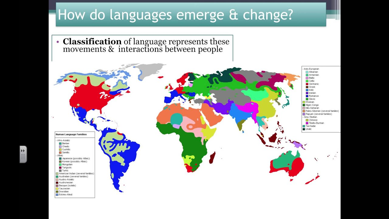 APHG How Is Language A Component Of A Cultural Landscape How - Changing world language map