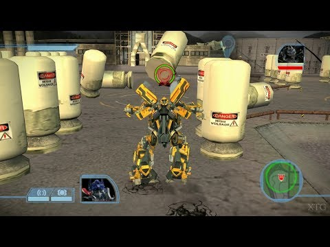 Transformers: The Game PS2 Gameplay HD (PCSX2)