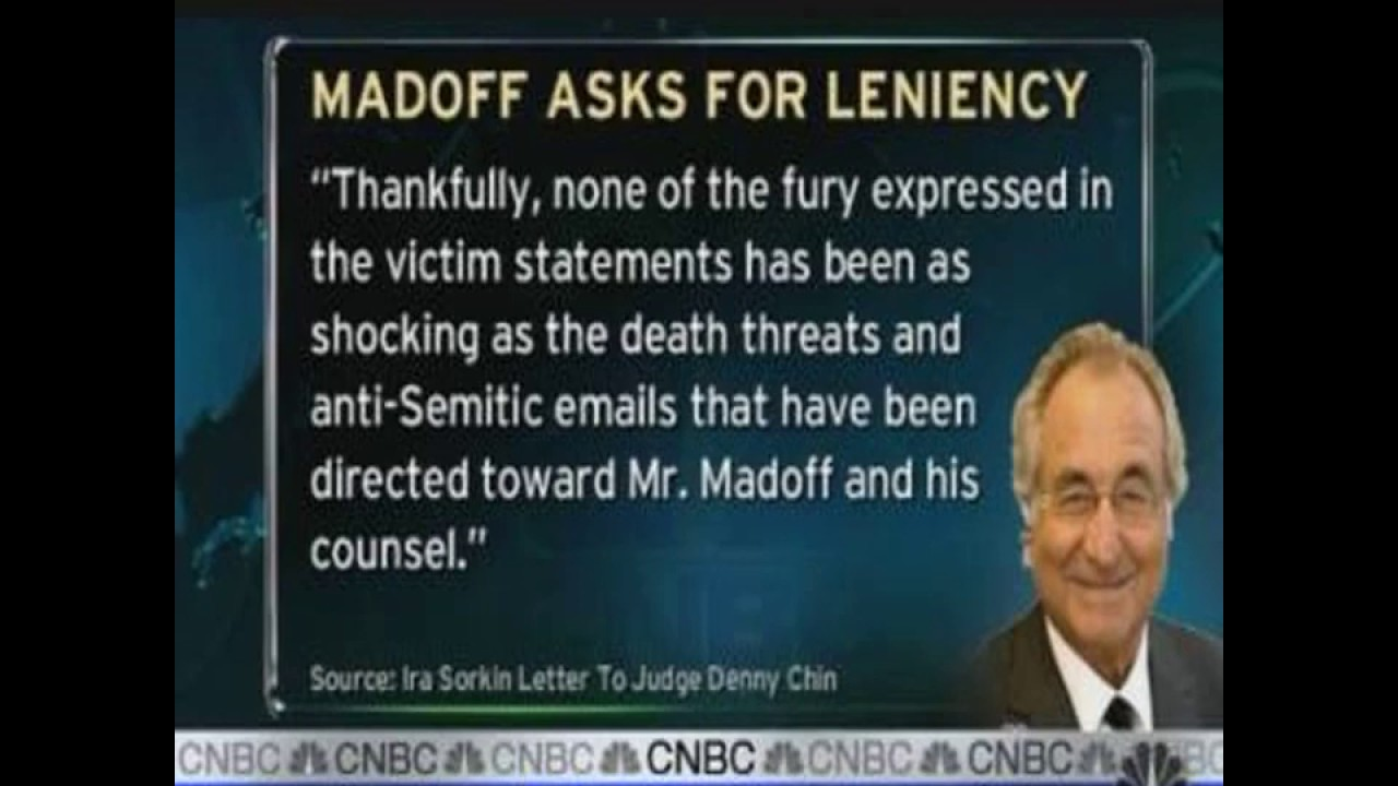 Ponzi scheme king Bernie Madoff, who bilked investors out of ...