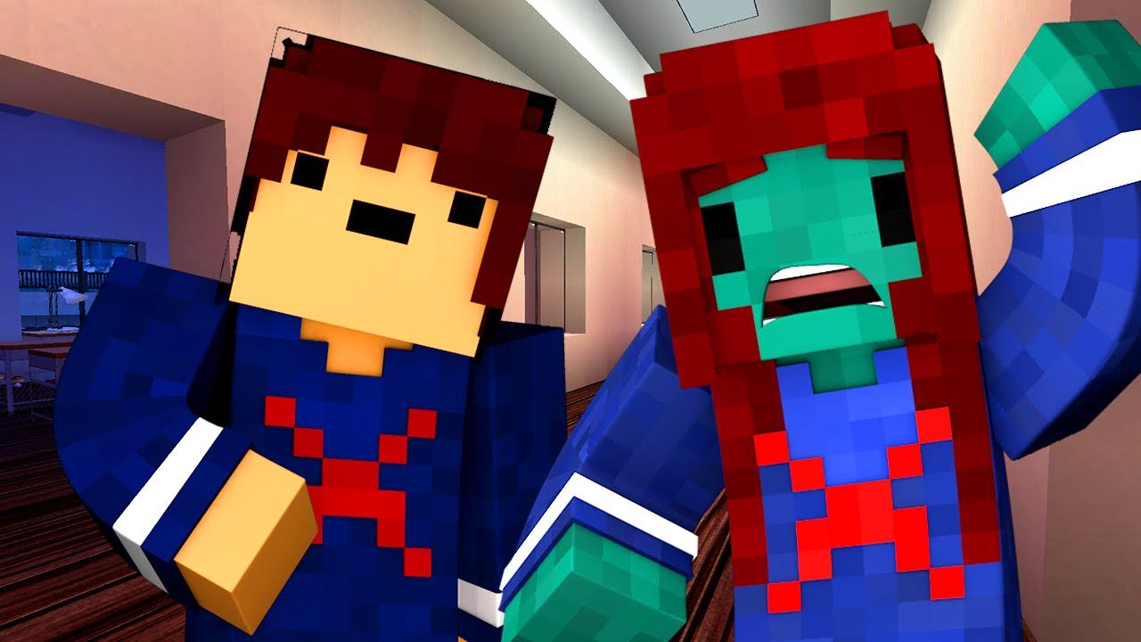 Yandere High School - WORST DAY EVER! (Minecraft Roleplay) #31