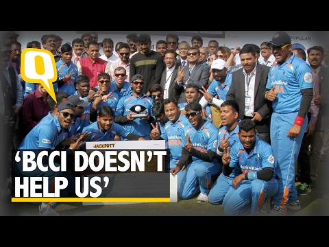 The Quint | Two WC Wins, But Still No BCCI Support: Indian Blind Cricket Team