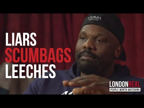 I HATE PROMOTERS | Dereck Chisora on fighting | London Real