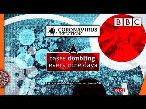 Covid-19: Nearly 100,000 catching virus every day - study 🔴 @BBC News live - BBC