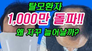[모발이식] 탈모인구 1,000만 돌파!왜 자꾸 늘어날…