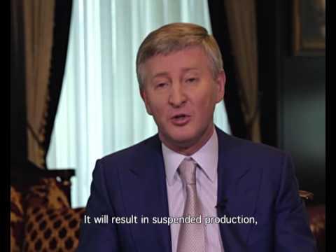 Rinat Akhmetov: A HAPPY DONBASS IN UNITED UKRAINE