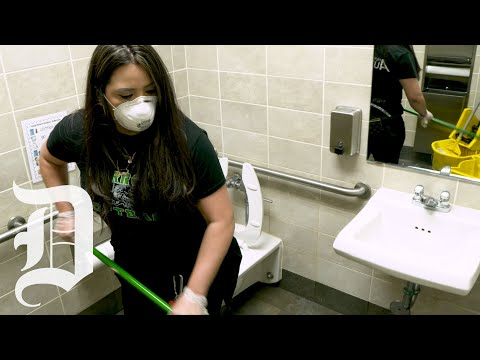 Fort Worth ISD Staff Conduct Deep Cleaning Of Schools During Spring Break