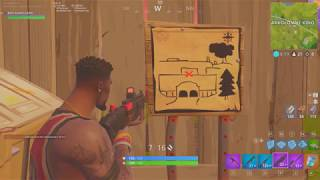 Fortnite GUIDE-How to make a mission follow the treasure map of the Karkolomnego Kina//NEW SKINS!