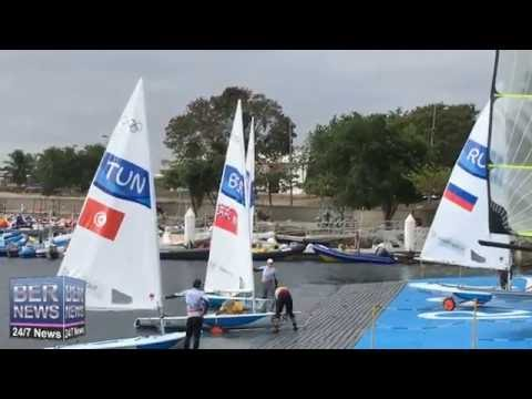 Bermuda Olympic Sailors Pimentel & Wollmann, August 2016