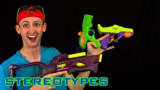 NERF STEREOTYPES   THE VINTAGE/90