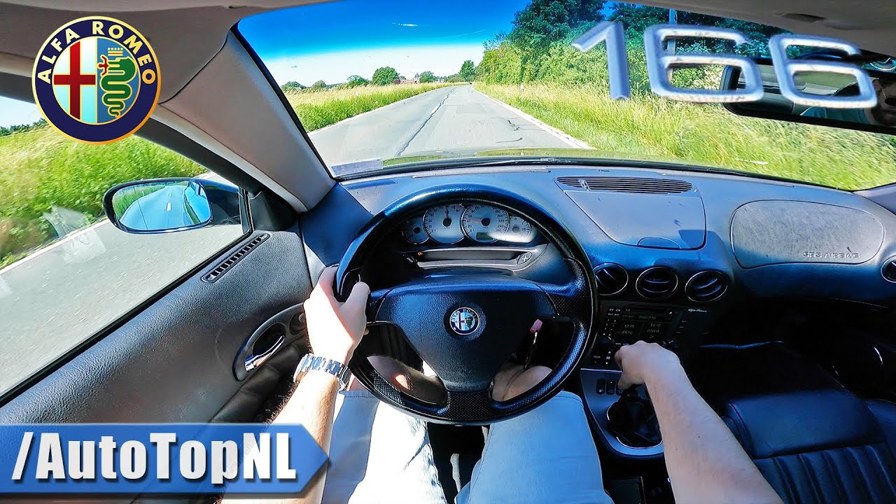 Alfa Romeo 166 3.0 V6 POV Test Drive by AutoTopNL