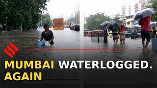 Severe water logging in parts of Mumbai following heavy Rainfall
