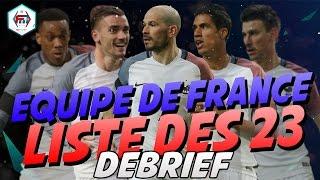 ÉQUIPE DE FRANCE - LA LISTE DES 23 !