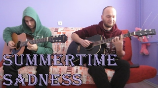Lana Del Rey - Summertime Sadness (acoustic guitar cover, tabs)