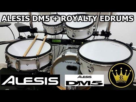 Alesis DM5 & Bateria Royalty Edrums (DEMO)