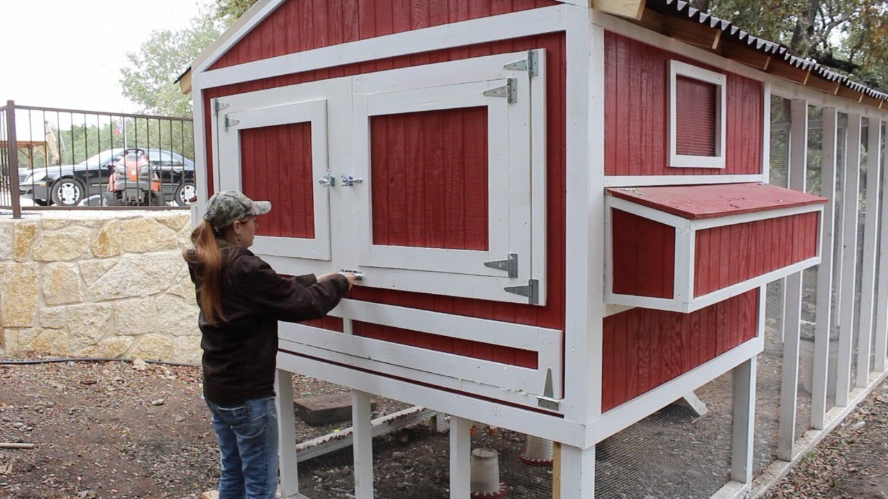 Building A Chicken Coop Part 3 Youtube