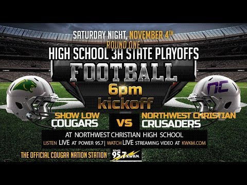 Show Low Cougars vs Northwest Christian Crusaders Varsity Football