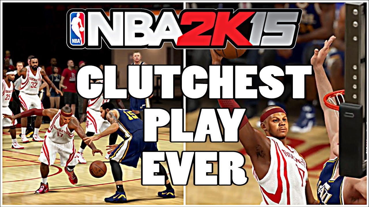 NBA 2k15 (60fps) My Career PLAYOFFS - SFG4 - CLUTCHEST PLAY EVER - YouTube