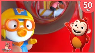 뽀로로 장난감 함께 코코몽 키즈 카페 어린이 놀이 모음 ♡ 미끄럼틀 공놀이 테마 파크 죽전점 Kid Indoor Playground Fun | 말이야와아이들 MariAndKids
