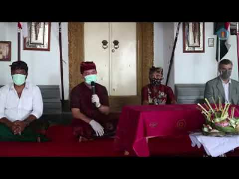 Video Return ceremony of keris and tombak to Puri Klungkung on the 112th anniversary of the puputan