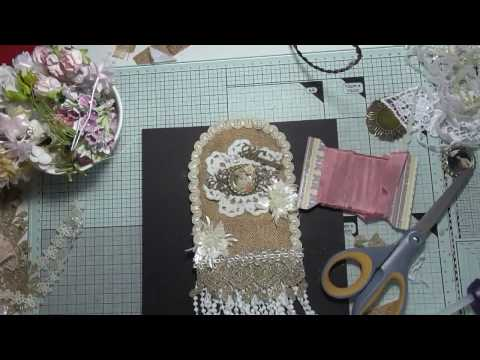 Vintage fabric tag process video for Scrimpy's