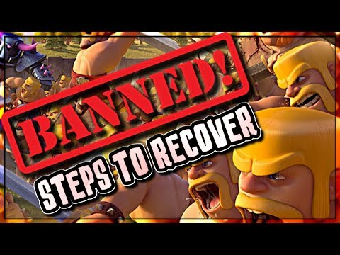 CLASH ACCOUNT BANNED or STOLEN?   STEPS TO RECOVER YOUR ACCOUNT   Clash of Clans