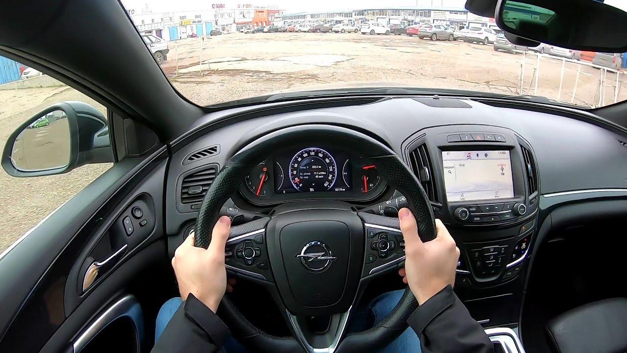 2013 Opel Insignia TURBO OPC LINE 1.6L (170) POV TEST DRIVE