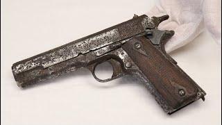 Springfield 1911 Found on WW1 Battlefield!