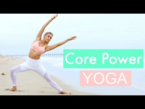 Core Power Yoga - TONED ABS WORKOUT | Rebecca Louise