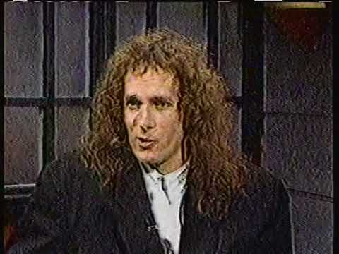 1987 Michael Bolton interview clips