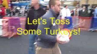 Rick & Bubba Turkey Toss 2009 with WZZK.wmv
