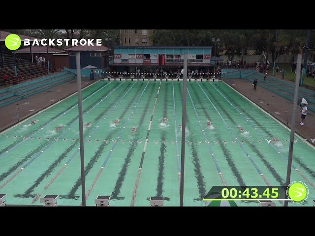#201 Mixed 100 LC Meter Freestyle Heat 13 of 15