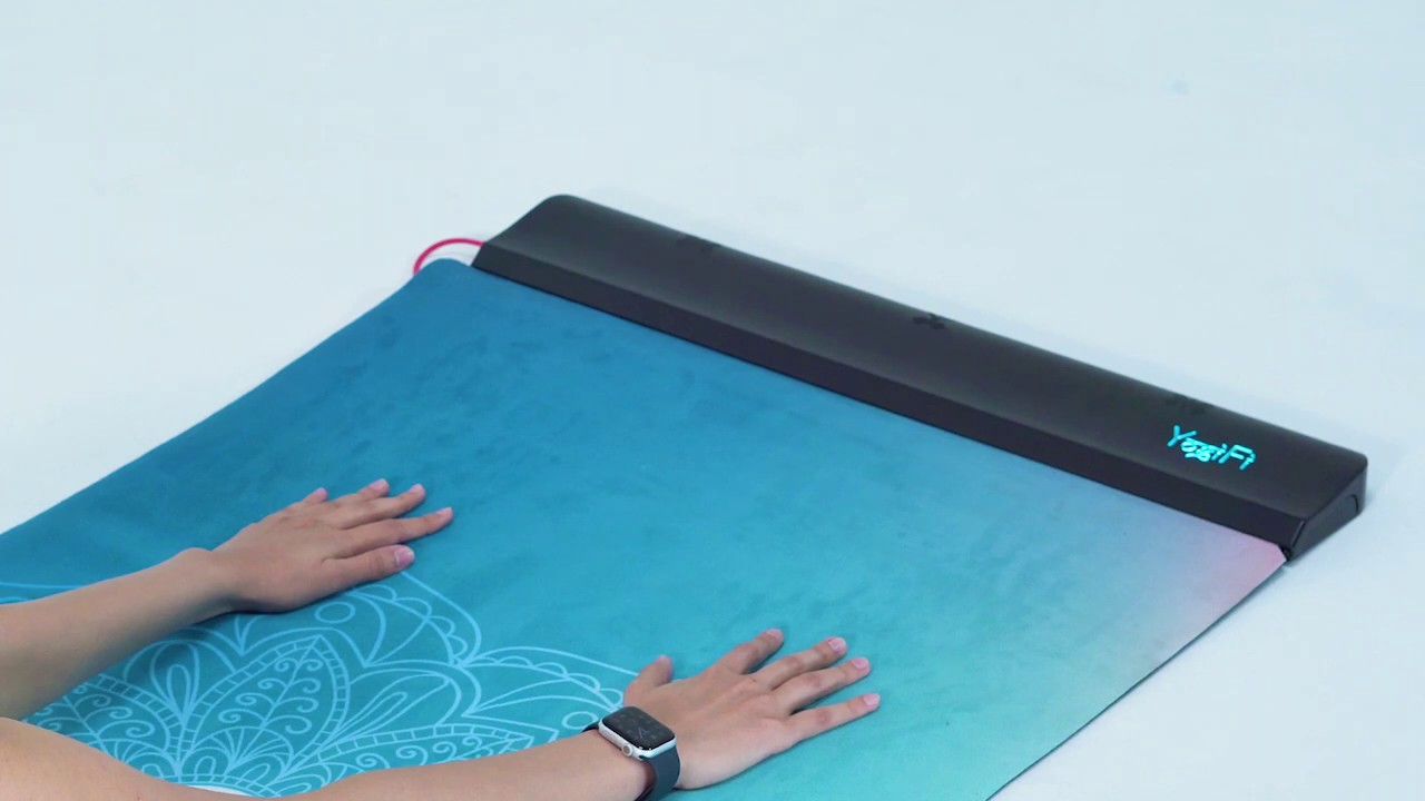 Yogifi Ai Powered Smart Fitness Yoga Mat By Vinod Kickstarter