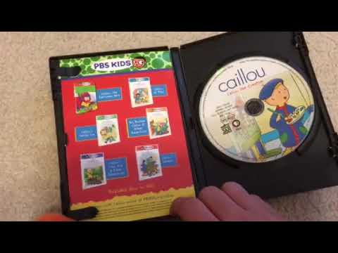 Getting rid of my Caillou DVDs