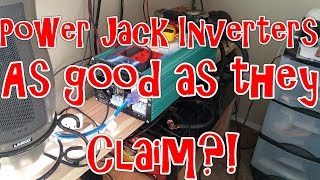 Power Jack 5000 Watt LF inverter test results