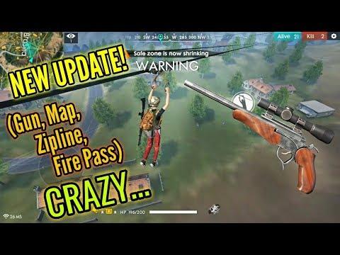 LEGS OF STEEL! (New Update!) [Map, Gun, Zipline, FirePass] - Free Fire Battlegrounds