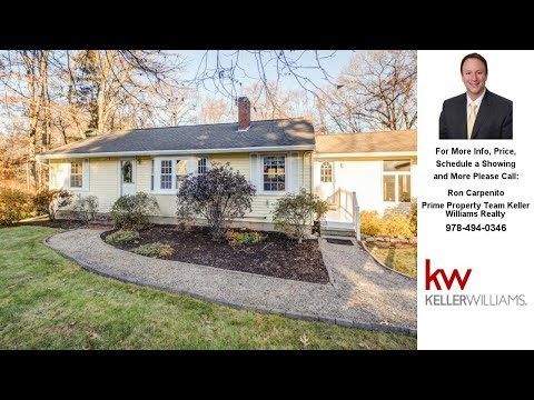 112 Salem Street, Andover, MA Presented by Ron Carpenito.