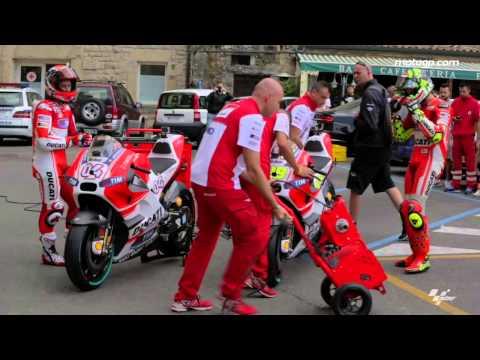 Ducati stalks the streets of San Marino