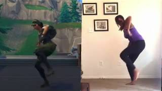 FORTNITE | Freestylin' Dance IRL