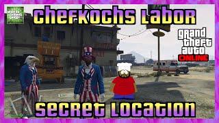 GTA 5 Online SECRET LOCATION | CHEFKOCHS DROGENLABOR | Geheimer Ort HD