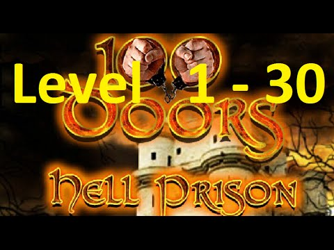 100 Doors: Hell Prison Escape - 100 Inferno Escape - Level 1 - 30  Walkthrough прохождение
