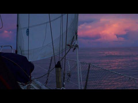 24 days at sea, sailing from Fiji to Majuro