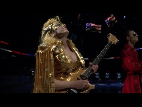Nili Brosh Performs National Anthem & Beat It Solo at NHL Vegas Golden Knights vs. Arizona Coyotes